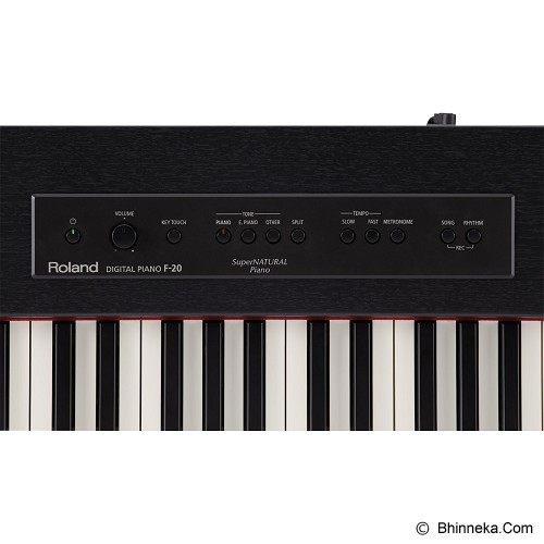 ROLAND Piano Digital [F-20] - Contemporary Black - Digital Piano